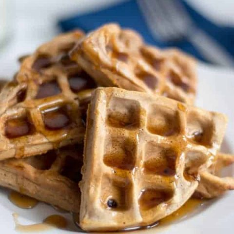 Cinnamon Brown Sugar Waffles