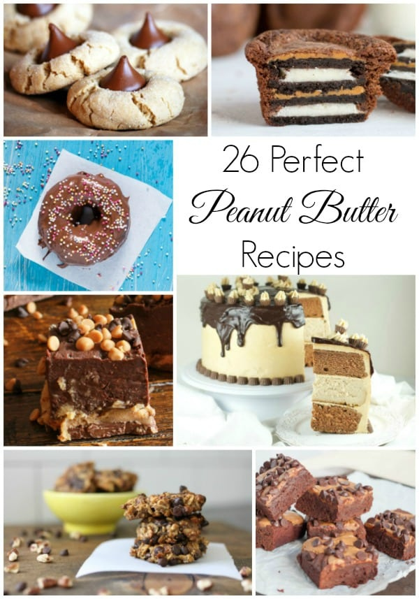 26 amazing peanut butter recipes that use one of my favorite ingredients! Celebrate National Peanut Butter Day in style!
