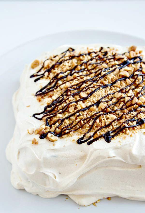 Peanut-Butter-Icebox-Cake-with-Hot-Fudge