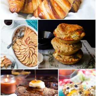 Whether you're entertaining for Easter, Mother's Day, or just having friends over for a weekend brunch these delicious and beautiful brunch recipes will please anybody on the guest list!