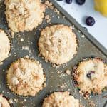 Lemon Blueberry Coffee Cake Muffins