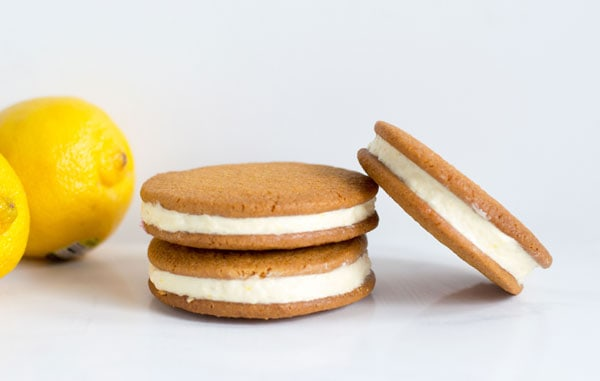 Lemon Cheesecake Sandwich Cookies | Cook. Craft. Love.
