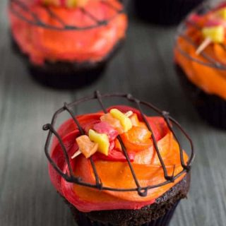 These grill cupcakes are easy to put together and perfect for your next backyard bbq or Father's Day celebration!