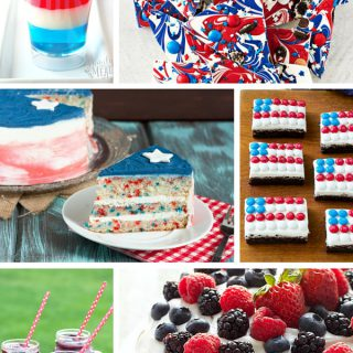 Whether you're celebrating Memorial Day, 4th of July, Flag Day, Labor Day, Veteran's Day or just because I've rounded up xx patriotic desserts perfect for your next patriotic celebration!