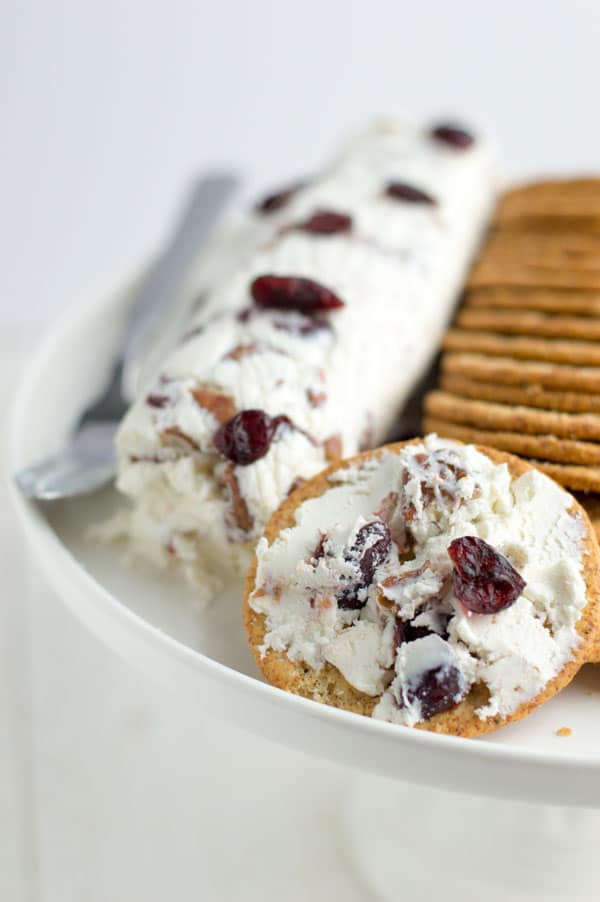 Whipped feta cheese spread takes my favorite tangy feta cheese and turns it into a spreadable dip perfect for your next summer party!