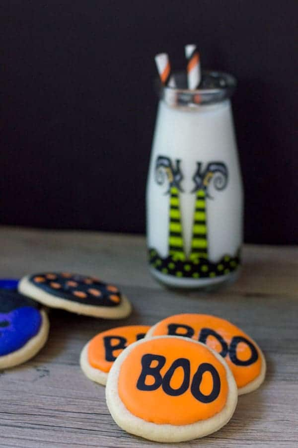 Halloween sugar cookies are a simple and fun way to celebrate the holiday!