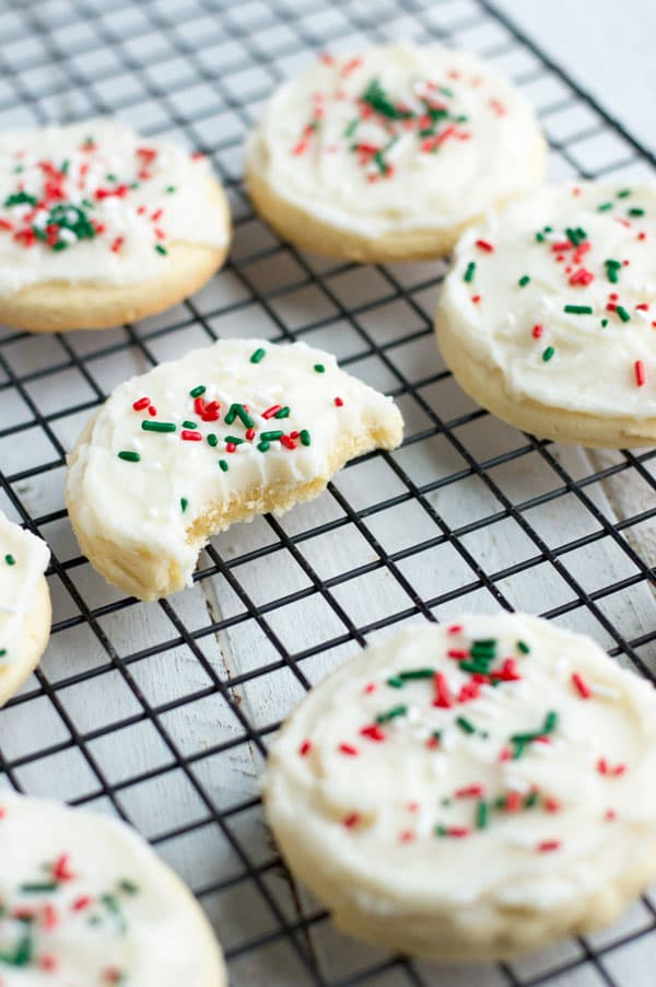Lofthouse Copycat Sugar Cookies are one of my favorite soft sugar cookies that I've finally made at home!