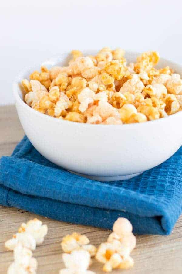 Chicago style popcorn is a blend of a salty sweet treat perfection and it's just the thing to bid farewell to my favorite president!