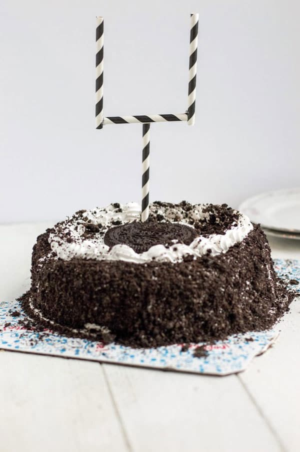 Make Game Day festive with 5 easy recipe ideas and a sweet ice cream cake!