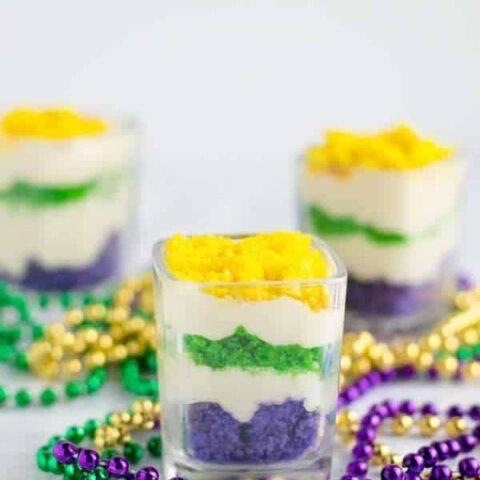 Mardi Gras Trifle