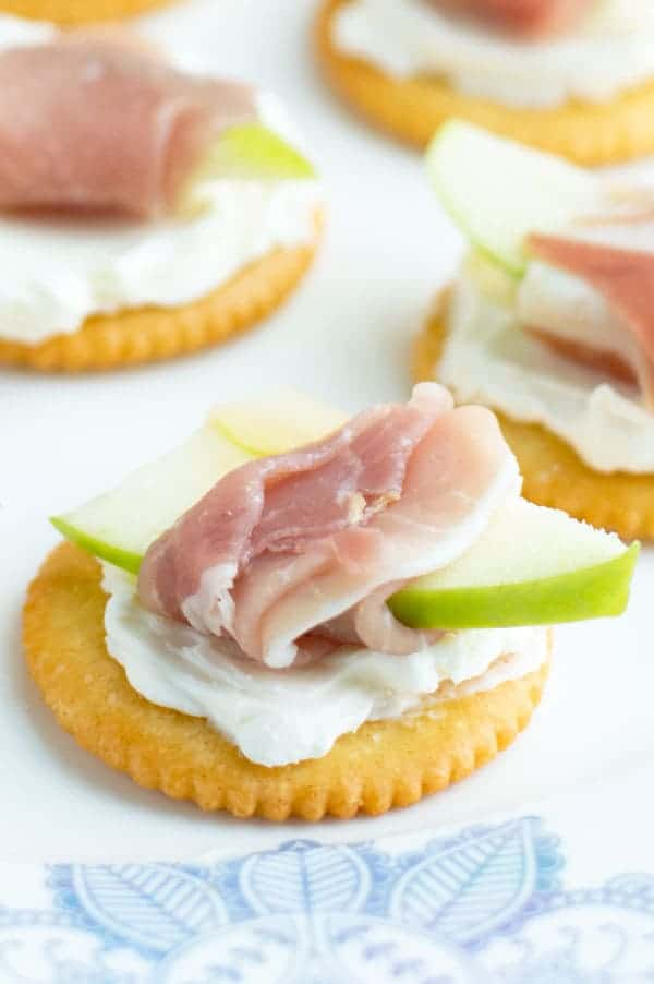 There's nothing worse than not being able to feed somebody who comes over to your house. Consider your problem solved with these simple last minute RITZ Cracker appetizers! Each one is ready in just 10 minutes or less and these sweet and savory starters are perfect for a crowd or last minute guest!