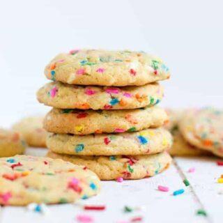 Funfetti Pudding Cookies