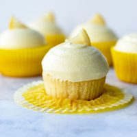 Perfectly Tart Lemon Cupcakes