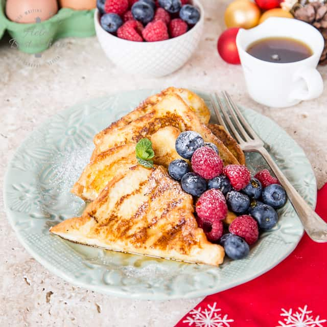 Orange Spiced French Toast - perfect for Christmas Brunch